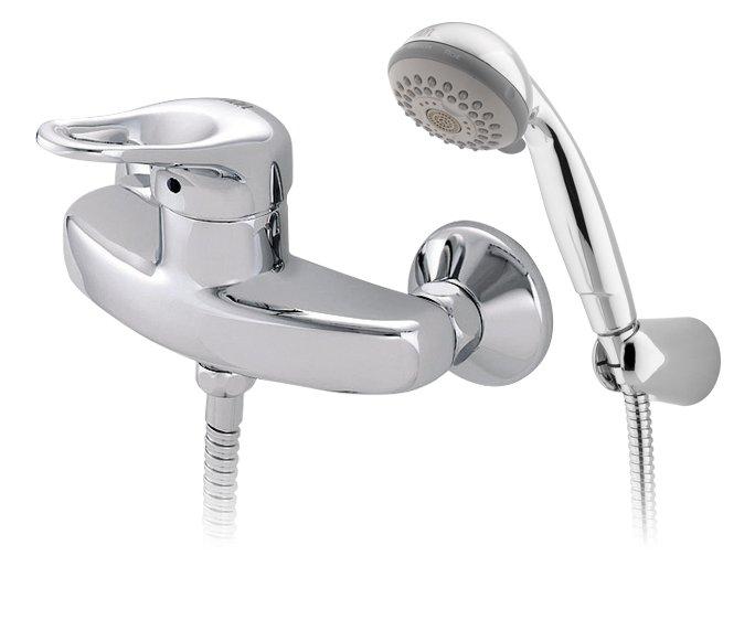 image 1 of ברז מהקיר למקלחת Allegro 300170