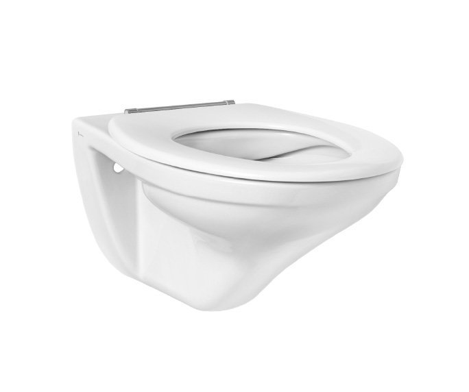 Clear Wall hung WC