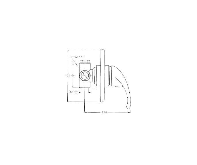 מערכת קיר 3 Rotem 900181 diagram