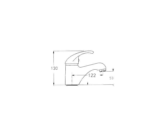 ברז פרח, פיה Rotem 900141 diagram