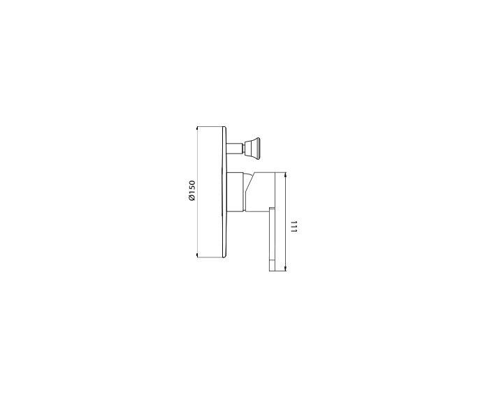 מערכת קיר מושלמת Clear 305383 diagram