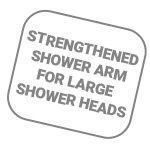 זרוע מחוזקת לראשי מ. גדולים