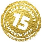 15 שנות אחריות חמת